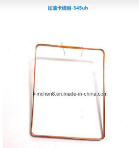 Copper Coil/Inductor Coil/Antenna Coil/Adhesive Coil for Gas Filling Card pictures & photos