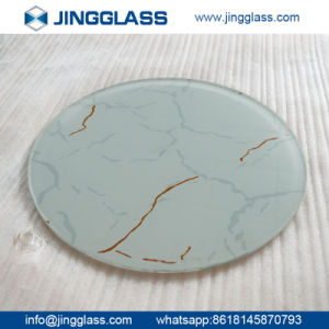 Building Construction Safety Corlored Tempered Ceramic Frit Glass pictures & photos