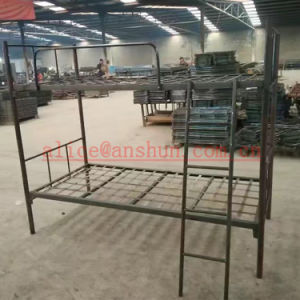 Jas-086 Luoyang Strong School Domitory Iron Steel Triple Bunk Beds for Adults pictures & photos