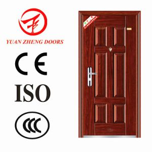 Popular Design Home Security Metal Entry Door Made in China pictures & photos