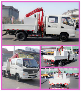 Good Foton 4X2 Classic Truck with Crane for Sale pictures & photos