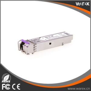 1000BASE-BX20 SFP module, 1490-nm TX/1310-nm RX wavelength, 20km, single LC/PC connector Cisco Compatible pictures & photos