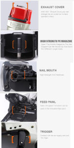 Cn80 Pallet Coil Nail Gun pictures & photos