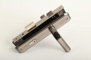 Aluminum Handle Door Handle Lock (DL-013) pictures & photos