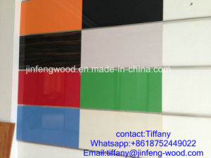 Hot Sale Cabinet Used UV Cated High Gloosy MDF Board pictures & photos