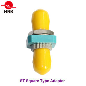 St Simplex Square Type Metal Fiber Optic Adapter pictures & photos