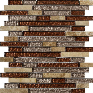 Building Material Wall and Floor Tile Glass Stone Mosaic pictures & photos