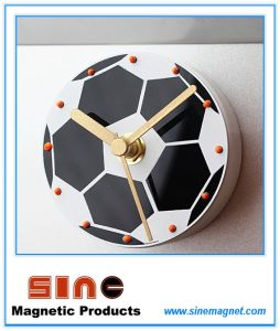 Creative Fashion Soccer Silent Fridge Magnetic Clock pictures & photos