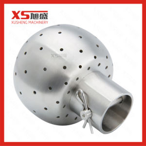 Dn50 Stainless Steel Ss304 Hygienic Weld Fixed Cleaning Ball pictures & photos