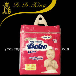 Grade a/B Super Absorbent Cotton Baby Diaper pictures & photos