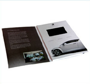 Invitation Greeting Card TFT Screen TV Promotion pictures & photos