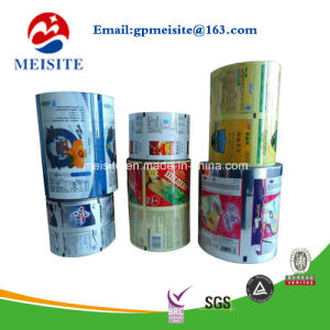 Safe Food Grade Plastic Printed BOPP Film Roll pictures & photos