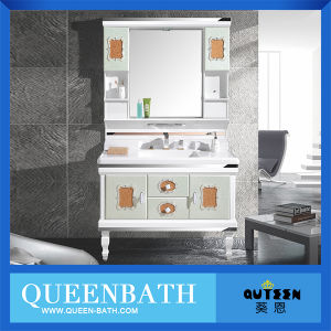 USA Luxury Cabinet Bathroom Vanity Cabinet with Mirror
