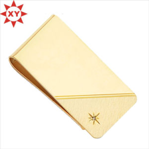 Hot Selling Leather Custom Logo Money Clip for Business Gifts pictures & photos