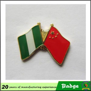 High Quality and Cheap Price Custom Flag Enamel Badges pictures & photos