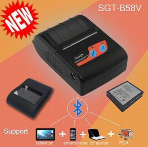 "2"" Portable Bluetooth Mobile Printer with USB / RS232, pictures & photos"