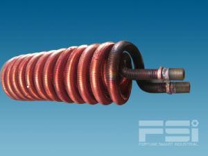 Coiling Copper Finned Tube Heat Exchanger 601 pictures & photos