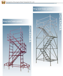 Ringlock Scaffolding / Layher Scaffolding System (real factory in Guangzhou) pictures & photos