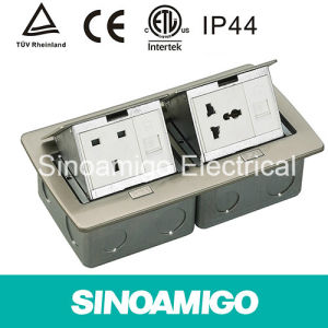 Stainless Steel Floor Socket Pop-up Boxes pictures & photos