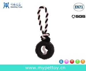 Pets Rubber Tyre Rope Dog Toy pictures & photos