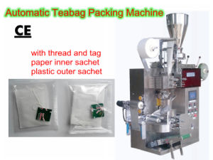 Teabag Packing Machine (inner and outter; with thread and tag;) pictures & photos