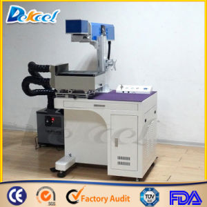 Fiber Laser Marking Machine 30W with Dust Collector pictures & photos