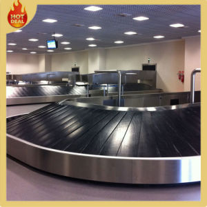 Customized Adjustable Stainless Steel Frame Baggage Airport Conveyor (AC-01) pictures & photos