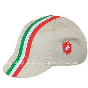 Customer Good Quality Cotton Embroidery Cycling Cap Hat pictures & photos