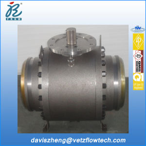 12 *10 Inch Class 300 RF Ends Reduced Bore A105 Fire Safe Anti Static Bolted Cover Pipeline Ball Valves with Locking Device
