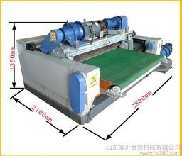 2.6 Meter Numerical Face Veneer Lathe Machine One Roller Motor Power 5.5kw pictures & photos