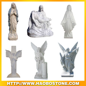 Haobo Natural Stone Carving Sculpture Statues pictures & photos