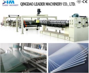 High Impact Resistance 2100mm Width PMMA Plastic Acrylic Sheet Making Machinery pictures & photos