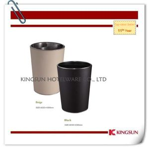 Metal Waste Container with Two Inner Bins for Hotel pictures & photos