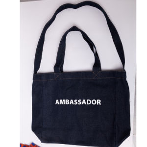 Top Quality Customized Canvas Cotton Bag, Custom Cotton Tote Bag, Foldable Cotton Shopping Bag pictures & photos
