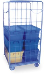Warehouse Steel Storage Roll Container pictures & photos