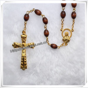 Religious Cheap Wooden Rosary Rosary Supplier (IO-cr021) pictures & photos