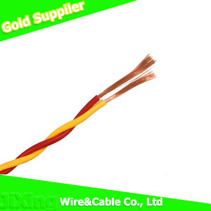 PVC Insulated Rvs 2*1.5mm2 Twisted Pair Flexible Copper Cable pictures & photos