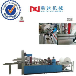 High Speed Full Auto Colors Printing Embossed Napkin Paper Fold Machine Equipment pictures & photos