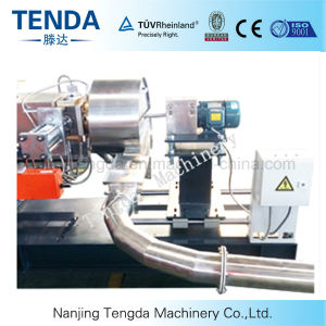 Polythylene Raw Material Twin Screw Extruder pictures & photos