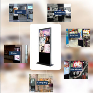 Cabinet Type Stand-Alone Machine for Advertising pictures & photos