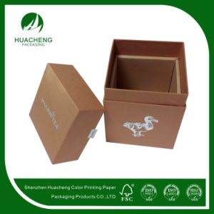 Professional Cardboard Customized Printing Paper Packaging Tea Box (HC0119)