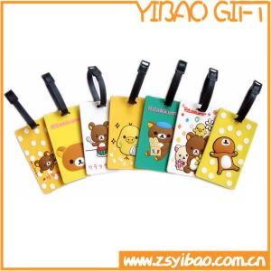 Soft PVC Luggage Tag/Bag Tag with Custom Embossed Logo (YB-SM-02) pictures & photos