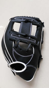 Professional Customized Black Baseball Glove (04) pictures & photos