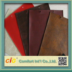 High Quality PVC Vinyl Artificial Leather pictures & photos