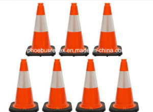 Safety Reflective Traffic Cone Cover pictures & photos