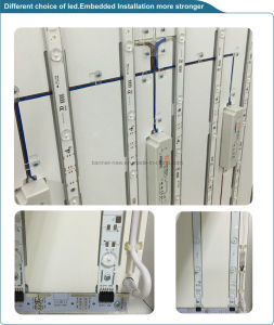 Embedded Strip, Fabric Flexible Film Silicon Edging Light Box (SS-LB2) pictures & photos