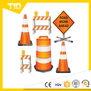 Barrier Sign Reflective Sticker for Traffic Workzone Safety pictures & photos
