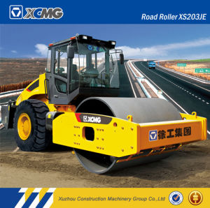 XCMG Xs203je 20ton Single Drum Rubber Tire Road Roller for Sale pictures & photos