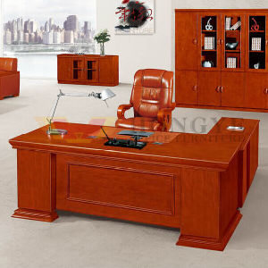 Popular L Shape Office Wooden Desk Sale (HY-NNH-K05-18) pictures & photos
