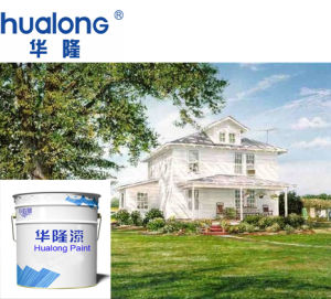Hualong Economic White Waterproof Exterior Wall Paint pictures & photos